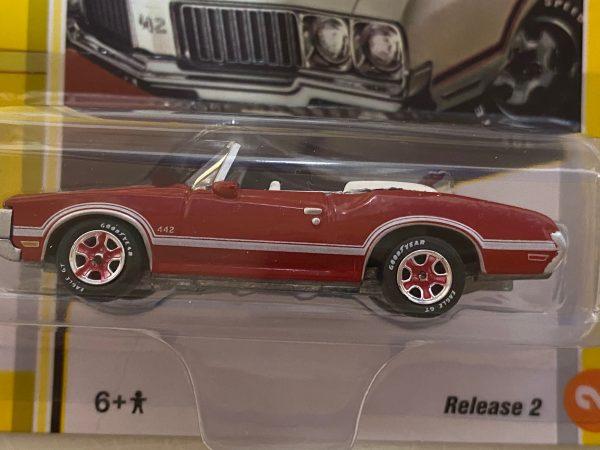 jlcg022b2a - 1970 Oldsmobile 442 Convertible in Matador Red