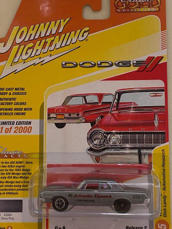 jlcg022b5 - 1964 Dodge 330 IN Grey Poly
