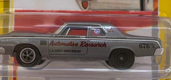 jlcg022b5a - 1964 Dodge 330 IN Grey Poly
