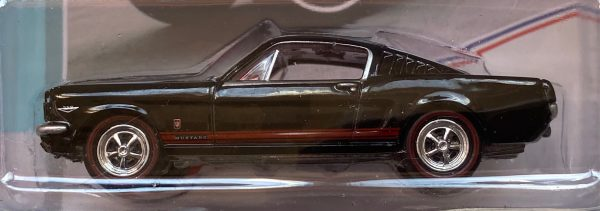 jlmc022a2a - 1965 FORD MUSTANG GT FASTBACK - RAVEN BLACK -JOHNNY LIGHTNING MUSCLE CARS USA