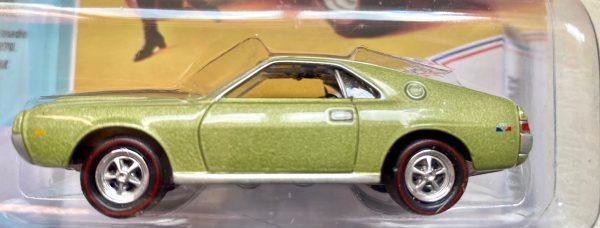 jlmc022a3a - 1968 AMC AMX - LAUREL GREEN POLY - JOHNNY LIGHTNING MUSCLE CARS USA