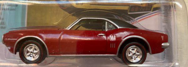 jlmc022a5 - 1969 PONTIAC FIREBIRD - SOLAR RED -JOHNNY LIGHTNING MUSCLE CARS USA
