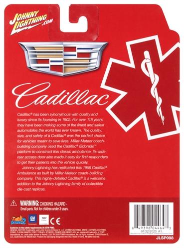 jlsp098 4 - 1959 Cadillac Ambulance (Red/White)