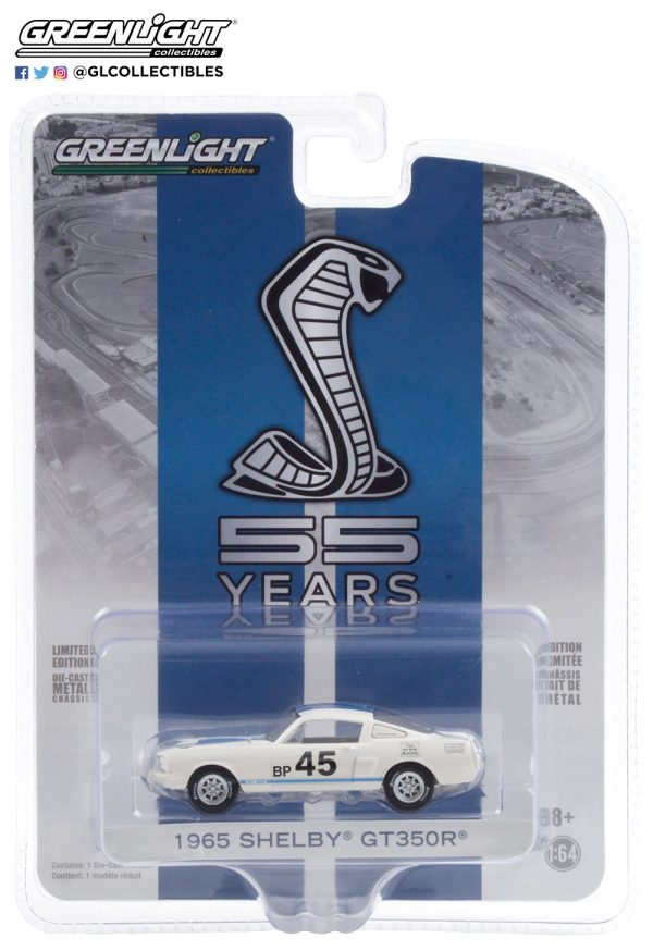 28040 a 1965 shelby gt350r 45 mustang gt350 55th anniversary pkg b2b - 1965 Shelby GT350R #45 - Mustang GT350 55th Anniversary --Anniversary Collection Series 11