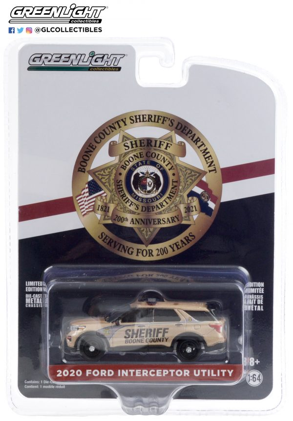 28040 e 2020 ford police interceptor utility boone county sheriffs department missouri pkg b2b - 2020 Ford Police Interceptor Utility - Boone County Sheriff's Department, Missouri - 200th Anniversary ==Anniversary Collection Series 11