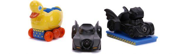 31616a - Batman 3 Piece Set Nano Hollywood Rides - minis approx 4 1/2 cm