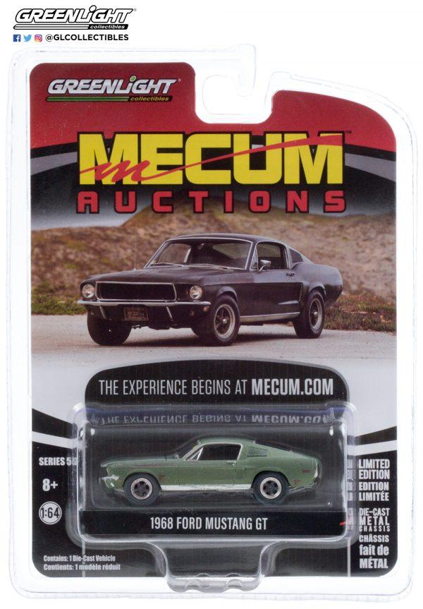 37210 a 1968 ford mustang gt bullitt pkg b2b - 1968 Ford Mustang GT 'Bullitt' (Kissimmee 2020 Lot #F150)