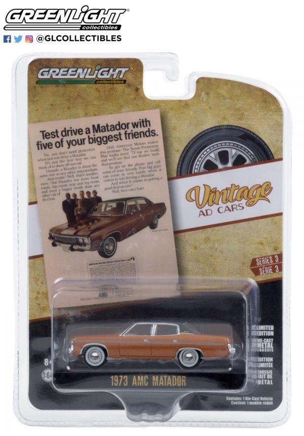"""39050 c 1973 amc matador pkg b2b - 1973 AMC Matador """"Test drive a Matador with five of your biggest friends"""""""