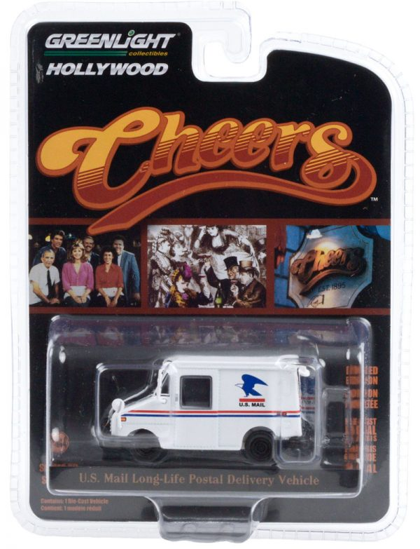 44890d1 - Cliff Clavin's U.S. Mail Long-Life Postal Delivery Vehicle (LLV) -Cheers(TV Series, 1982-93)