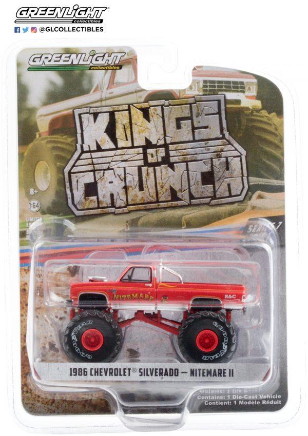 49070 d nitemare ii 1986 chevrolet silverado monster truck pkg b2b - Nitemare II - 1986 Chevrolet Silverado Monster Truck