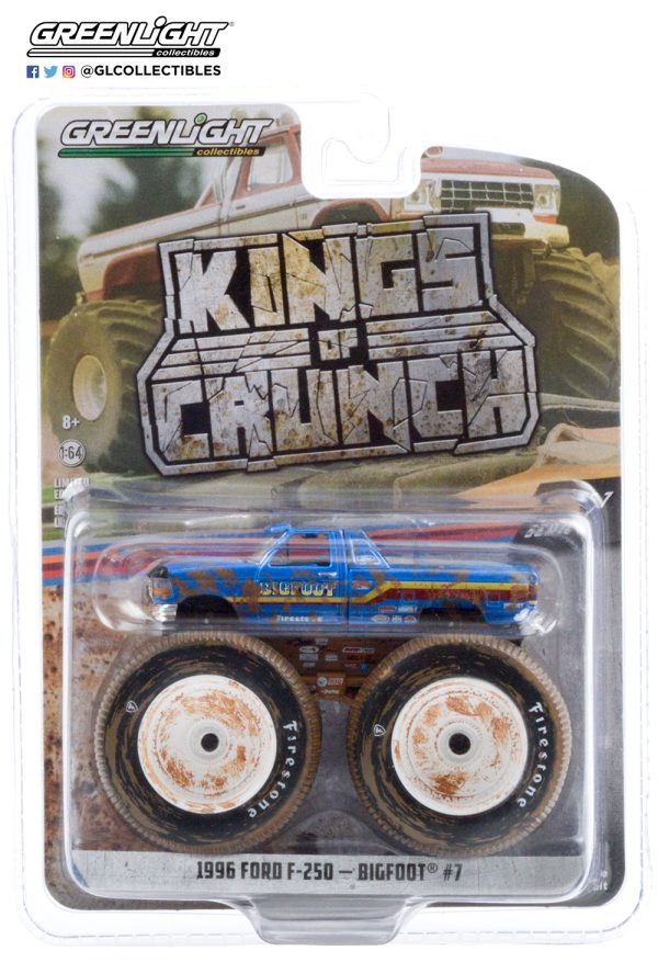 49070 f bigfood 7 1996 ford f 250 monster truck dirty version pkg b2b - Bigfoot #7 - 1996 Ford F-250 Monster Truck (Dirty Version)