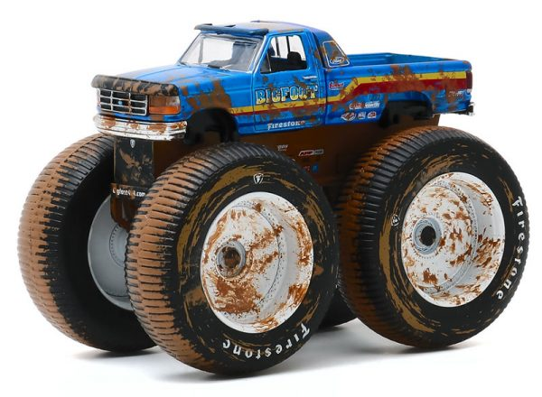 49070f - Bigfoot #7 - 1996 Ford F-250 Monster Truck (Dirty Version)