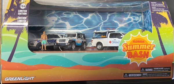 58053 - Florida Summer Bash - Multi-Car Diorama (1:64 SCALE)