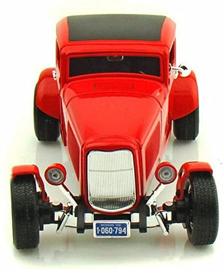 73171ra - 1932 FORD 5 WINDOW COUPE IN RED