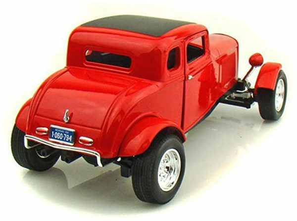 73171rb - 1932 FORD 5 WINDOW COUPE IN RED