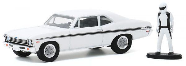 97090c - 1972 Chevrolet Rally Nova with Race Car Driver