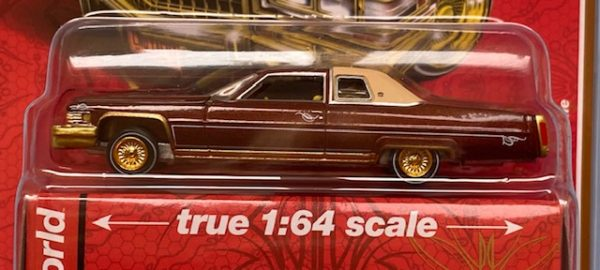 cp7661a - 1976 CADILLAC COUPE DEVILLE CUSTOM LOWRIDERS (MIJO EXCLUSIVE)