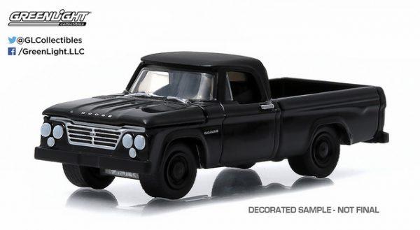 27790 13 1 - 1963 DODGE D100 PICK UP TRUCK, BLACK BANDIT SERIES 13