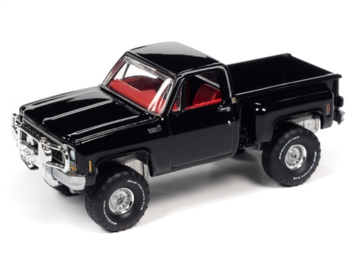 awsp057a 3 - 1980 Chevrolet Custom Deluxe 10 Stepside - Black