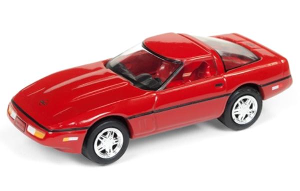 jlsp026 a - 1988 Chevrolet Corvette in Red