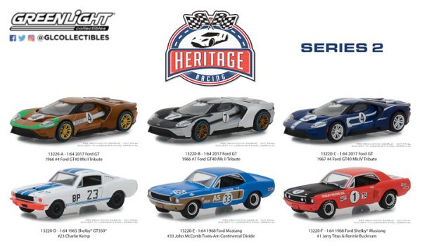 13220 - 2017 FORD GT #4 - HERITAGE RACING SERIES 2 - GOLD