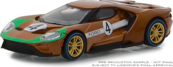 13220a - 2017 FORD GT #4 - HERITAGE RACING SERIES 2 - GOLD