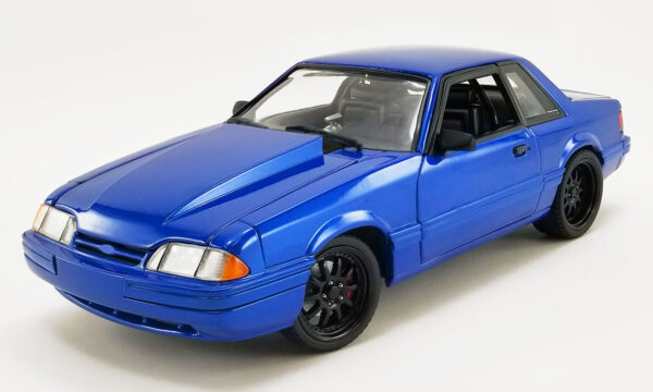 18954a - GMP 1990 Ford Mustang 5.0 LX - Supercharged Street Fighter - Metallic Blue