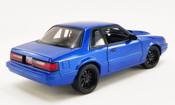 18954b - GMP 1990 Ford Mustang 5.0 LX - Supercharged Street Fighter - Metallic Blue