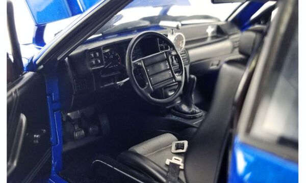 18954e - GMP 1990 Ford Mustang 5.0 LX - Supercharged Street Fighter - Metallic Blue