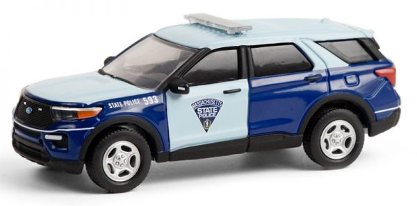 42930f - 2020 Ford Police Interceptor Utility - Massachusetts State Police - Hot Pursuit Series 36