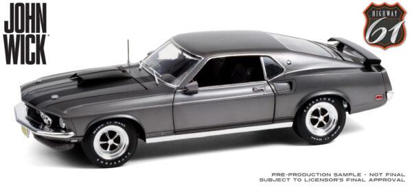 50639153917 01770e6491 k - 1969 Ford Mustang BOSS 429 - Chrome - Highway 61 - 1:18 John Wick (2014)