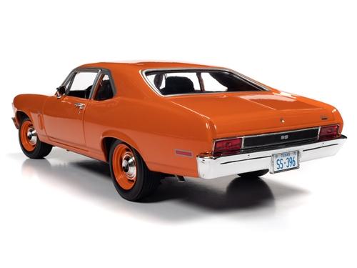 amm1226 5 - 1970 Chevy Nova SS 396 1:18 Scale