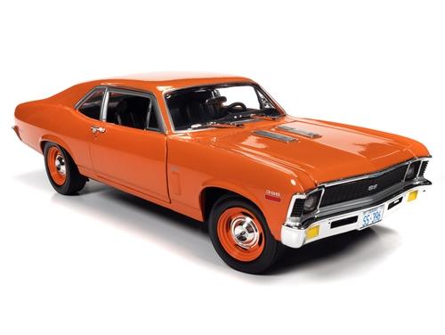 amm1226 7 - 1970 Chevy Nova SS 396 1:18 Scale