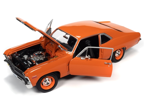 amm1226 8 - 1970 Chevy Nova SS 396 1:18 Scale
