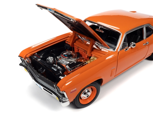 amm1226 9 - 1970 Chevy Nova SS 396 1:18 Scale