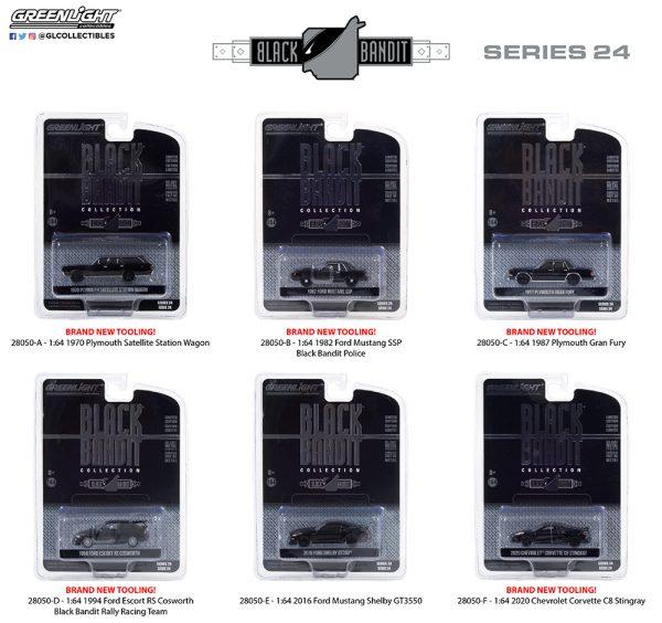 28050 1 64 black bandit 24 group pkg b2b - 2020 Chevrolet Corvette C8 Stingray - Black Bandit Series 24