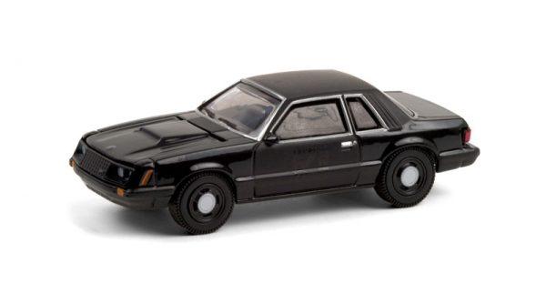 28050b - 1982 Ford Mustang SSP - Black Bandit Series 24