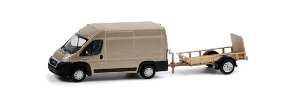 32210c - 2019 Ram ProMaster 2500 Cargo High Roof and Utility Trailer - Hitch & Tow Series 21