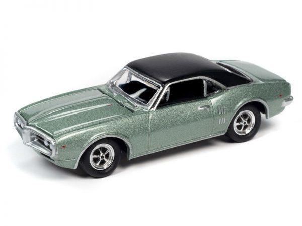 jlct004 2 - 1967 Pontiac Firebird in Linden Green WITH Collectible Metal Storage Tin