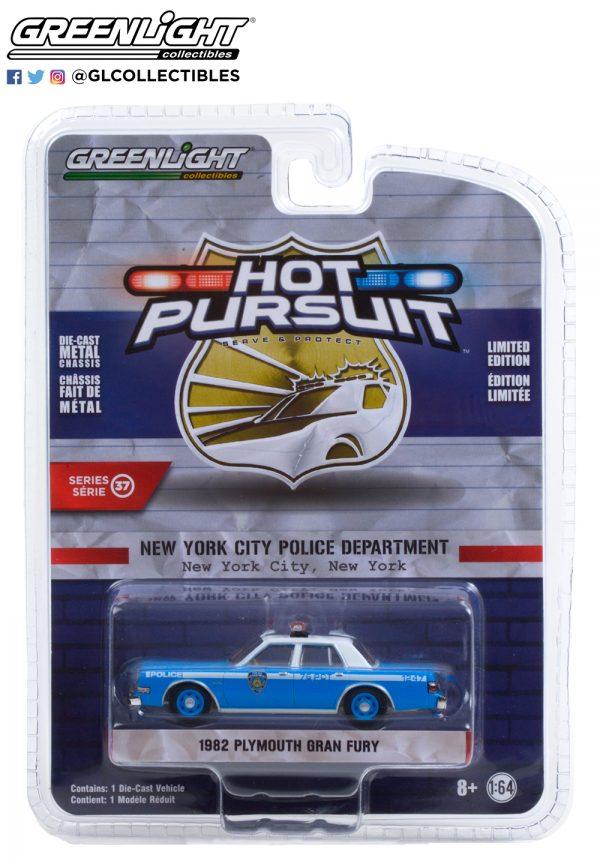 42950 b 1982 plymouth gran fury nypd pkg b2b - 1982 Plymouth Gran Fury - New York City Police Dept (NYPD)