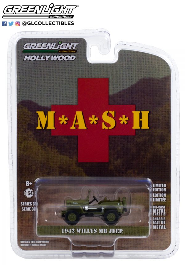 44900 a 1942 willys mb jeep mash pkg b2b 1 - 1942 Willys MB Jeep-- M*A*S*H (1972-83 TV Series)