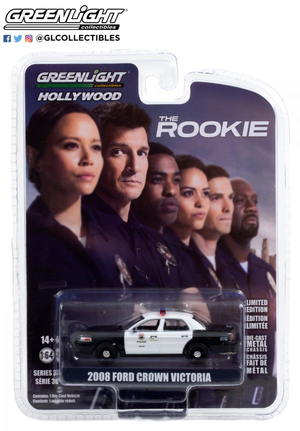44900 f 2008 ford crown victoria police interceptor lapd the rookie pkg b2b - 2008 Ford Crown Victoria Police Interceptor - Los Angeles Police Department (LAPD)-- The Rookie (2018-Current TV Series)