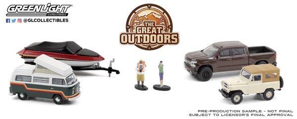 58056 1 64 multi car diorama the great outdoors group b2b - The Great Outdoors---Multi-Car Dioramas