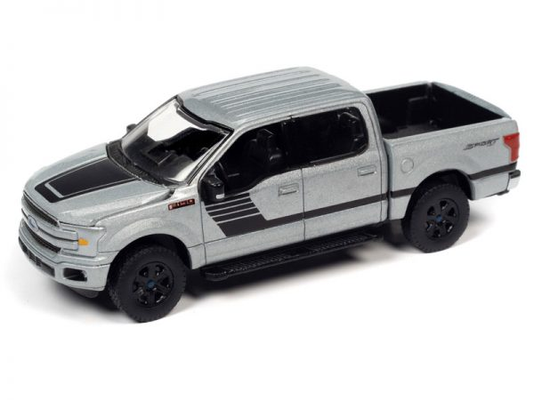 aw64282a2 - 2019 FORD F-150 XLT SPORT PICK UP TRUCK IN ICONIC SILVER