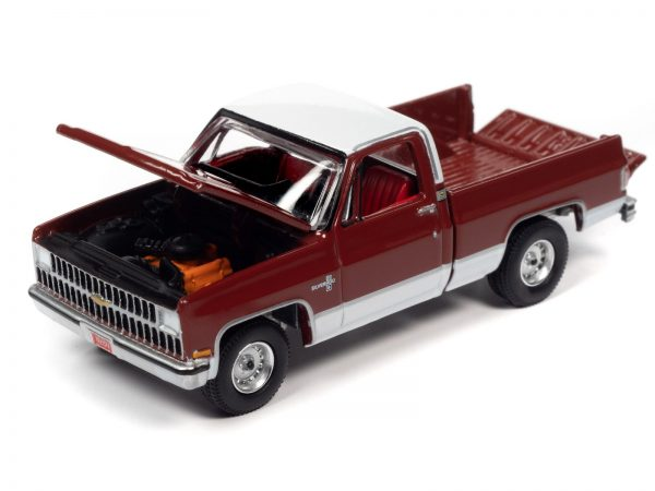 awsp062a 1 - 1981 CHEVROLET SILVERADO 10 (CARMINE RED WITH WHITE ROOF AND LOWER SIDES)