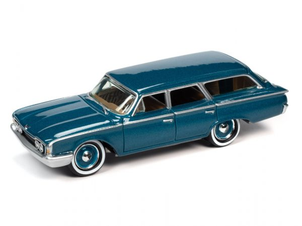 jlcg023a1 - 1960 Ford Country Squire - sultana Turquoise Poly - Limited to 2000