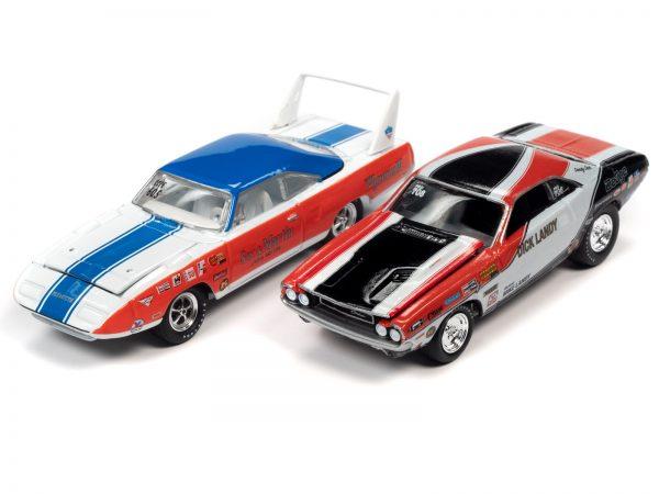 jlpk011 legends group - 1970 SUPERBIRD & 1970 CHALLENGER....Johnny Lightning Twin Pack 2020 Release 2