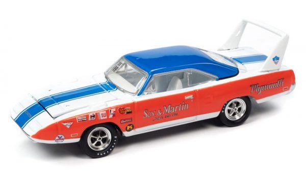 jlpk011a1 - 1970 SUPERBIRD & 1970 CHALLENGER....Johnny Lightning Twin Pack 2020 Release 2