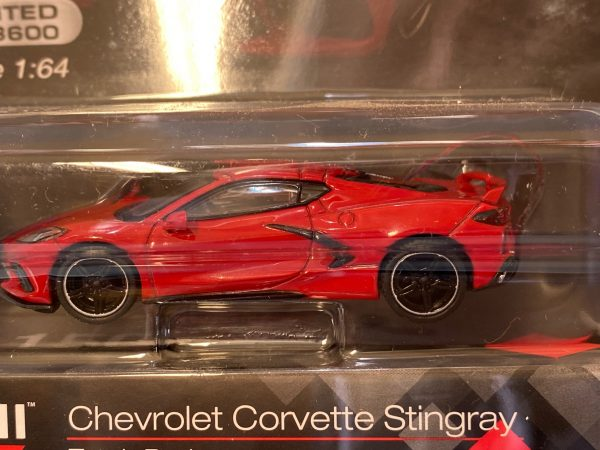 mgt00150 1 - 2020 CHEVROLET CORVETTE STINGRAY - TORCH RED (LIMITED TO 3600)