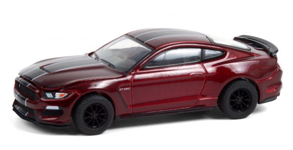 13290e - 2019 Ford Shelby GT350 in Ruby Red with Black Stripes